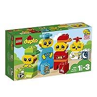 LEGO 乐高  拼插类 玩具  DUPLO 得宝系列 我的小小表情包 10861 1½-3岁 婴幼