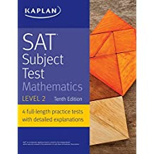 SAT Subject Test Mathematics Level 2 (Kaplan Test Prep) (English Edition)
