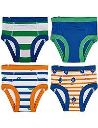 Trimfit 婴儿和幼儿棉质训练裤(4 件装)