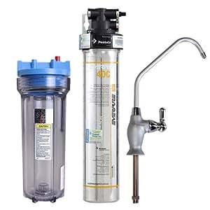 Everpure 爱惠浦 4DC型 净水器 净水机 直饮机 厨房餐饮用水及商用过滤器(不含安装(亚马逊自营商品, 由供应商配送)