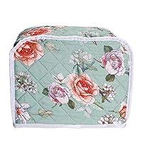 面包机烤面包机盖,面包机保护套袋,面包烤面包机烤箱盖,厨房小家电整理袋盖,厨房机器保护盖,送给女士的礼物 Floral#2