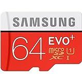 三星(SAMSUNG)64GB UHS-1 Class10 TF(Micro SD)存储卡(读速80Mb/s)升级版+