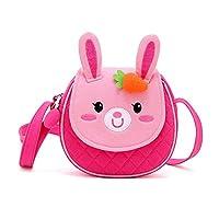Uworth 儿童单肩包斜挎包钱包单肩包粉红色、生日礼物适合女孩