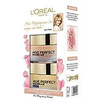 L'Oreal Paris 巴黎欧莱雅 Age Perfect 系列 Golden Age日霜晚霜套装 含新钙和牡丹提取物 带来玫瑰肌