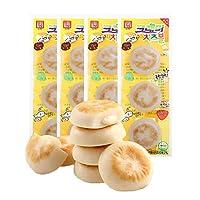 客唻美 奶酪鳕鱼饼(原味)36g*4(韩国进口)(亚马逊自营商品, 由供应商配送)