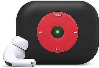 elago AW6 手机壳专为 Apple AirPods Pro 设计外壳,Apple 经典音乐播放器设计外壳 [美国*申请中]EAPPAW6-BK