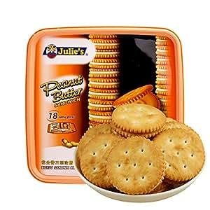 Julie's茱蒂丝花生酱三明治饼干540g(马来西亚进口)