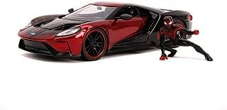 2017 福特 GT 与 Miles Morales 压铸模型蜘蛛侠漫威系列 1/24 压铸模型汽车 Jada 31190