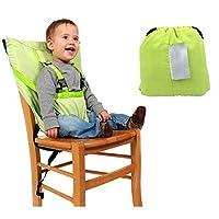 便携婴儿餐椅*带婴儿餐椅*带婴儿*座椅套可水洗绿色