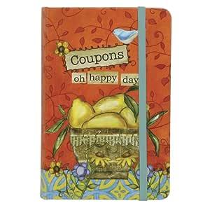 C.R. Gibson Coupon Keeper, Joyful Abundance