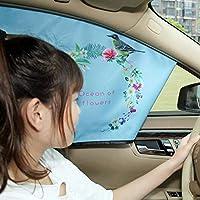 【特惠两只装】汽车遮阳挡 太阳挡遮阳板 汽车遮阳帘太阳板 (正驾驶-副驾驶)