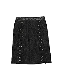 [snidel] 褶皱系带裙 SWFS184143 女士