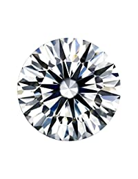 Diamonbella Brilliant 10 心形 10 个箭松散仿钻石理想圆形切割(7 至 12 毫米)