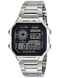 CASIO 卡西欧 电子男士手表 AE-1200WHD-1AVDF