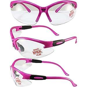 Global Vision Cougar *眼镜桃红色镜架 2.0x 放大透镜