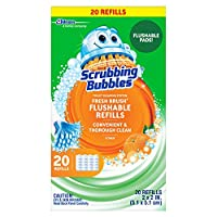 Scrubbing Bubbles 清新刷马桶清洁系统 Flushable Refill 20 ct 20
