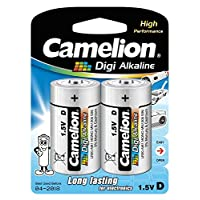 Camelion LR 20 D 单声道数字碱性电池(2 个装)