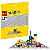 LEGO 乐高 拼插类玩具 Classic经典系列 经典创意灰色底板 10701 4-99岁 积木玩具