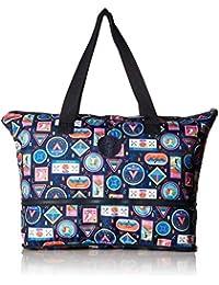 Kipling 凯浦林 Imagine 可折叠手提袋基本旅行包,浪漫道路