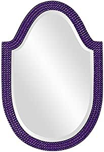Howard Elliott 2125RP Lancelot Mirror, Royal Purple