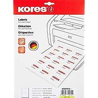 Kores 薄膜标签白色激光+复印机 105.0 x 145.0 毫米 10张40张标签