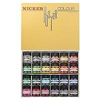Nicker paint 水彩颜料 水粉 40毫升(中瓶) 24色套装 多色