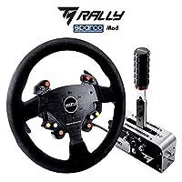ThrustMaster Rally Race Gear Sparco Mod 套装 - 黑色