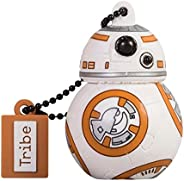 Tribe Disney 星球大战 Darth Vader USB 钢笔驱动 USB *棒闪存盘,礼品创意 3D 人物,PVC USB 小工具带钥匙扣钥匙圈FD030504 BB8 16 GB