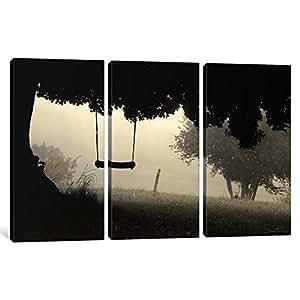 """iCanvasART 1 件 I'm Still a Child 帆布画 Ben Heine 出品 60"""" x 40"""" BHE4-3PC3-60x40"""