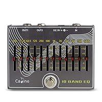 Caline CP-81 10 乐队 EQ 吉他效果踏板 带音量/增益