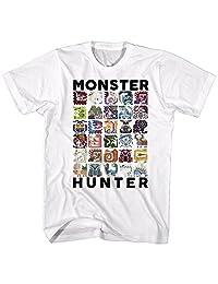 American Classics Monster Hunter Collage Let's Hunt 视频游戏成人 T 恤