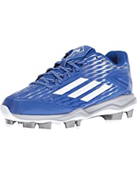 adidas Performance 女式 PowerAlley 3 W 热塑性聚氨酯垒球鞋钉