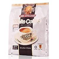 AIK CHEONG 益昌三合一白咖啡(减少糖)600g(马来西亚进口)(新老包装随机发货))