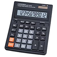 Citizen 西铁城 SDC-444S 台式计算器 黑色