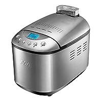 ACA 北美电器AB-3SF16 自动撒果料面包机 拉丝不锈钢机身 烤架+烤盘组合