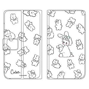 Caho 壳 手册式 薄型印刷手册 兔子WN-LC1001494_MX 4_ AQUOS PHONE ZETA SH-01H 兔子B