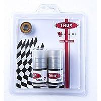 TRUE BEARINGS ABEC-7(16 件装)适用于内联和四轮滑轮