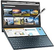 ASUS 华硕 ZenBook Duo UX481FL 14英寸全高清触摸双屏笔记本电脑(Intel i7-10510,NVIDIA GeForce MX250 2GB 显卡,16 GB RAM,1 TB SSD,Win