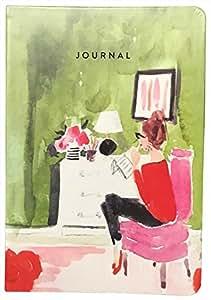 Eccolo 15.24 x 20.32 cm 仿皮日记本 Breakfast Journal