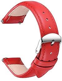 SONGDU analog 皮革 红色 LB-24-Red 表带