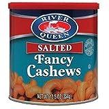 River Queen Fancy Cashews, 12.5 Ounce
