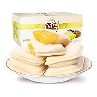 冠达 菠萝口袋面包750g(亚马逊自营商品, 由供应商配送)