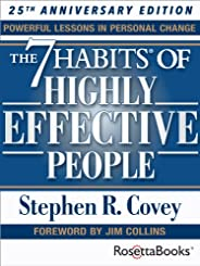 The 7 Habits of Highly Effective People: Powerful Lessons in Personal Change (25th Anniversary Edition) (Engli
