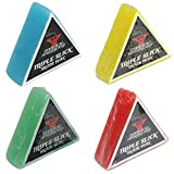 Dime Bag Hardware Triple Slick Skateboard Curb 蜡,混色(4 件装)
