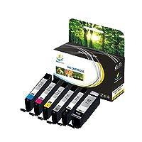 Catch supplies pgi-270cli-271替换高容量墨盒兼容 CANON PIXMA mg6820MG 5720MG 5721MG ts5020TS6020TS 8020ts9020printers |pigment 黑色黑色灰色青色洋红色 yellow|