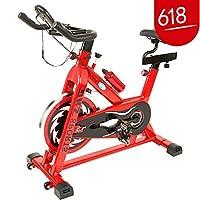 闪电客家用健身车动感单车静音室内健身器材脚踏车运动自行车磁控红黑款