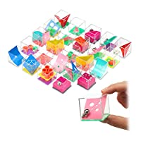Relaxdays 10024166 耐心游戏,24 种旋律游戏,适用儿童和成人,不同的 难度级别,骰子每个4 x 4 厘米,彩色