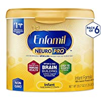 Enfamil 美贊臣 NeuroPro 1段 0-12個月 嬰兒配方奶粉 587g/罐 6罐裝