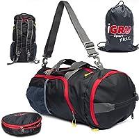 用黑色旅行包背包适用于主动男式免费赠送洗衣袋–30.48cm 来自 igru SPORT