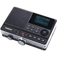 Sangean(r) Dar-101 數字錄音機帶電話應答功能 13.70in. x 7.70in. x 3.80in. 黑色